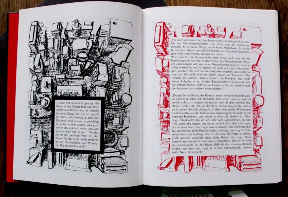 Boerse, Comic, Kunst, Schrat, Interviewprojekt