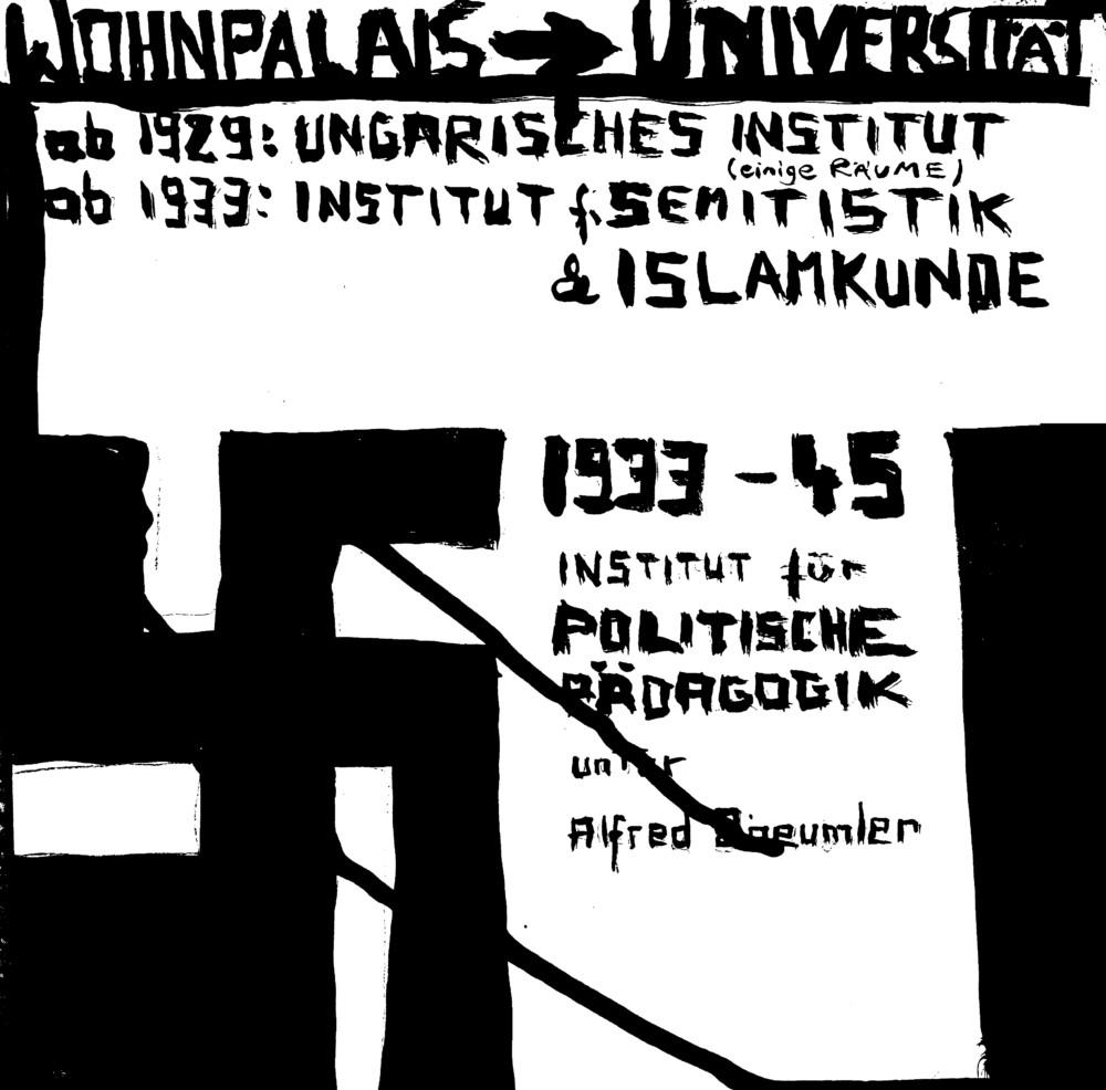 Magnushaus, Berlin, Denkmal, Recherche, Comic