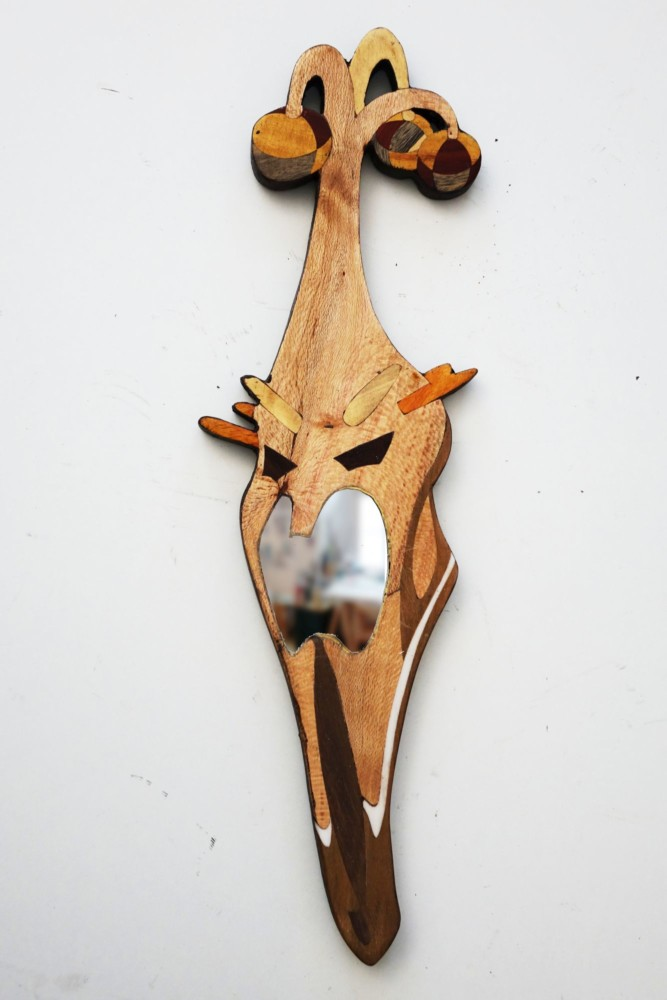 Intarsie, Wood Inlay, Art, Spiegel, Mirror, Nazgul, Hexenkönig von Angmar