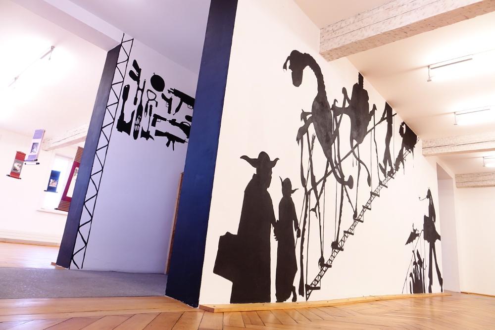 Galerie der Stadt Backnang, Orangerie bei Nacht, Henrik Schrat