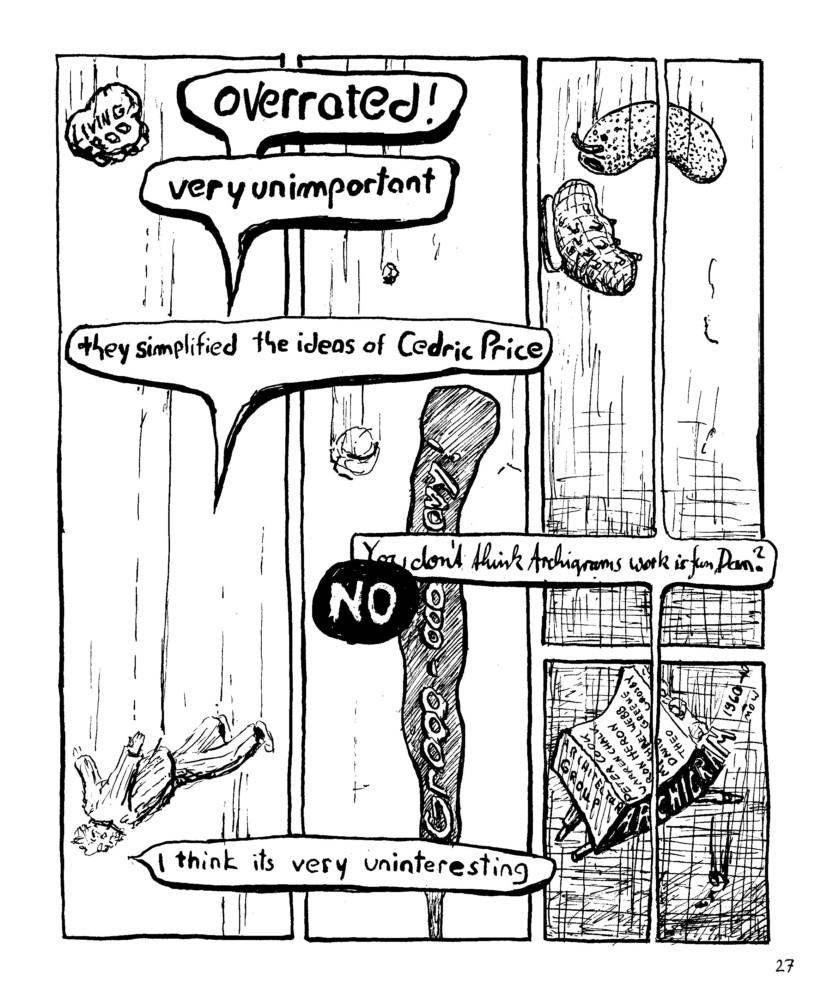 Falling Cedric Price