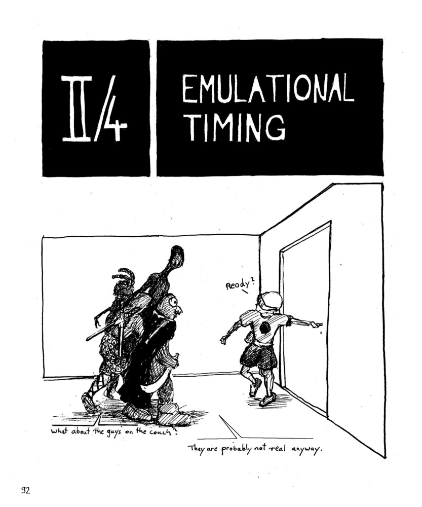 Emulational Timing. Graphic Novel, Dan Graham, Architecture, Shopping Malls