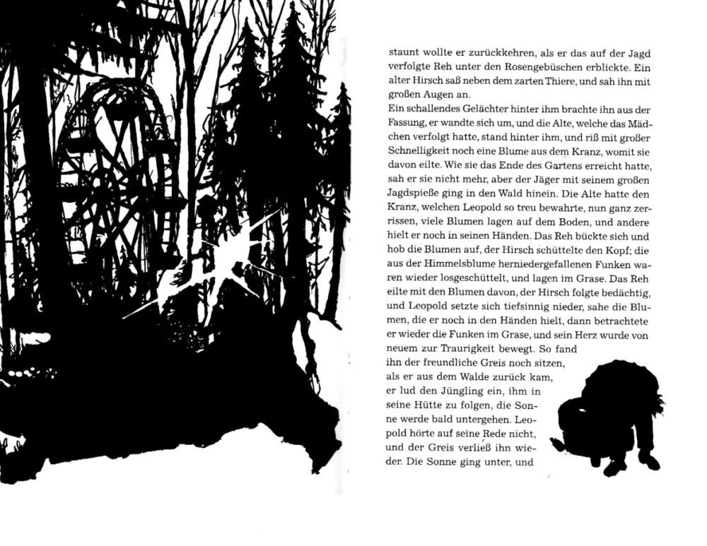 Belinde, Sophie Tieck Insel Bücherei Illustration