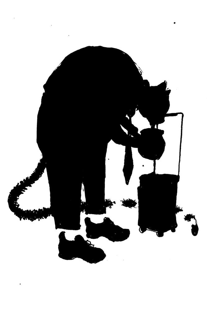 Katze leckt Fett, Grimm KHM 2