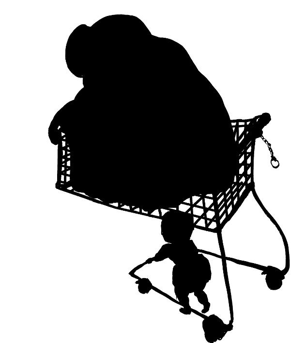 Blob, Einkaufswagen